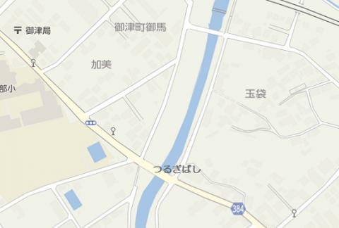 御津町地図 加美