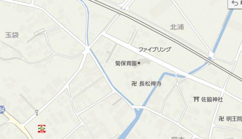御津町地図 佐脇神社