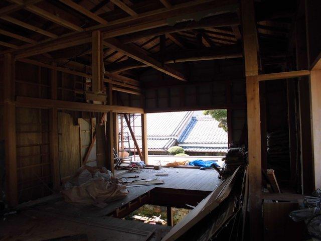 よこまちや 付属建物解体 2