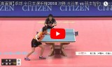 張本智和VS水谷隼(男子決勝戦)全日本卓球2018