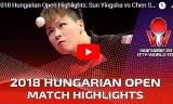 孫穎莎VS陳思羽(準決勝)ハンガリーオープン2018