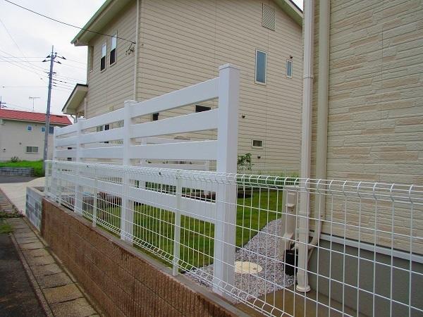 フェンスの設置完了Ⅰ様2