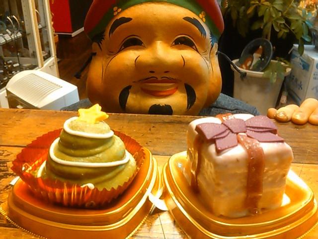 大君とケーキ