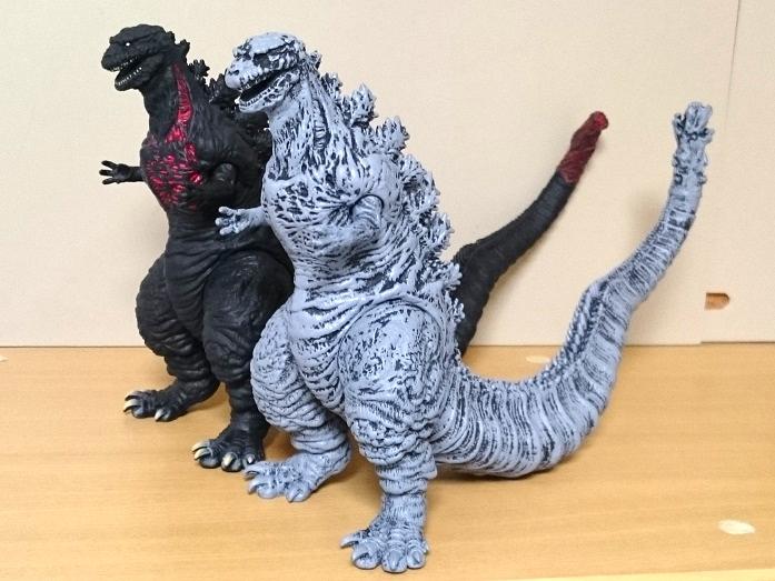 ムービーモンスターシリーズ シン・ゴジラ ゴジラ2016 形態変化3体セット13