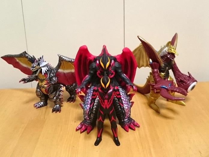 ウルトラ怪獣DX ベリアル融合獣キメラベロス6