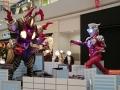 アリオ八尾 ウルトラマンジード(ソリッドバーニング)VSベリアル融合獣ペダニウムゼットン2