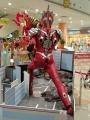 アリオ八尾 ウルトラマンジード(ソリッドバーニング)VSベリアル融合獣ペダニウムゼットン10