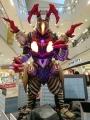 アリオ八尾 ウルトラマンジード(ソリッドバーニング)VSベリアル融合獣ペダニウムゼットン11
