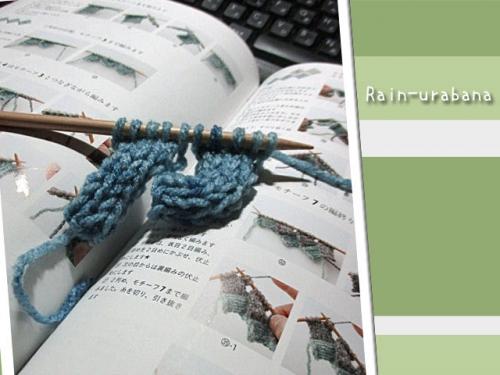 バスケット編みに挑戦中!