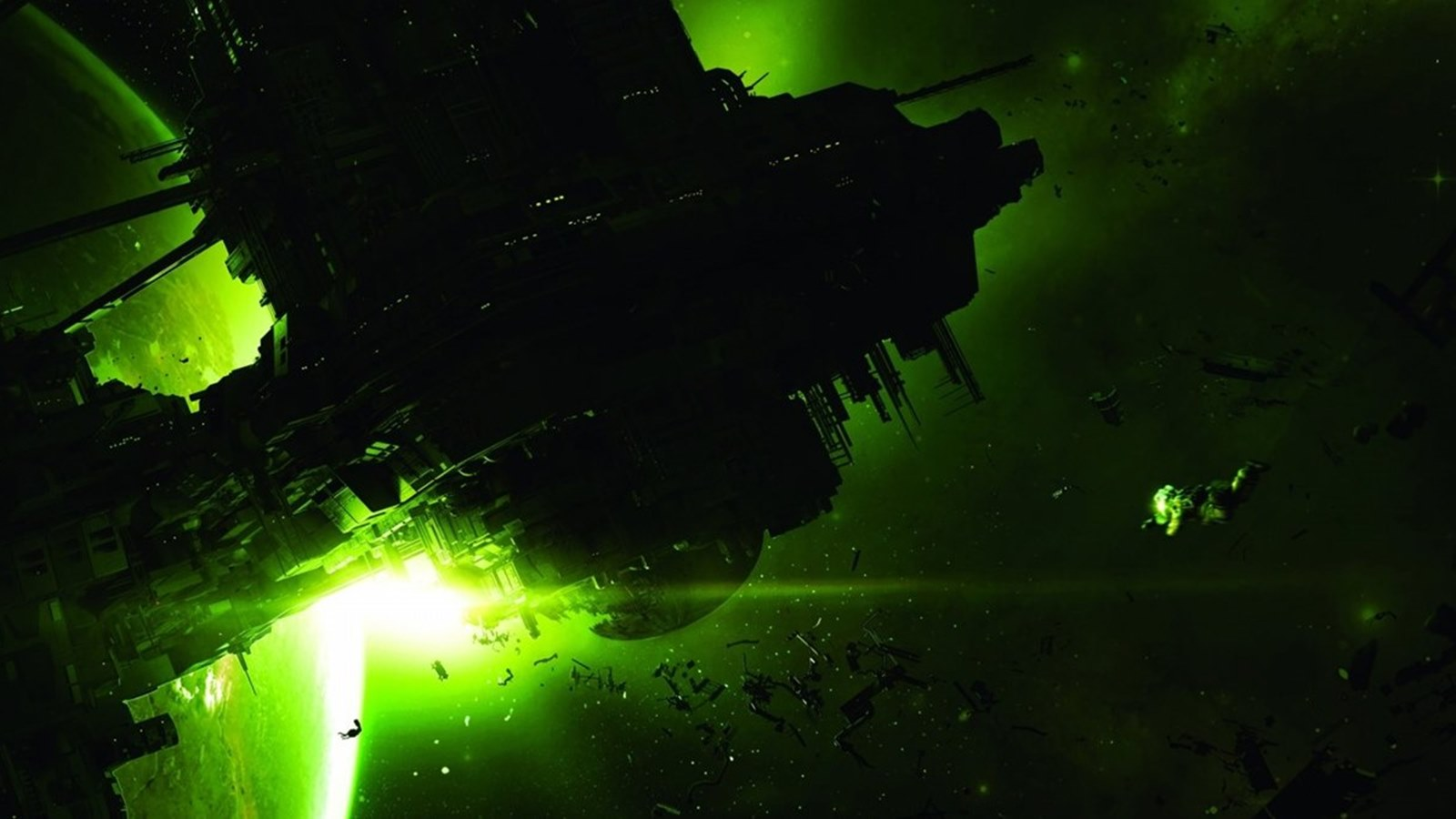 Alien isolation background