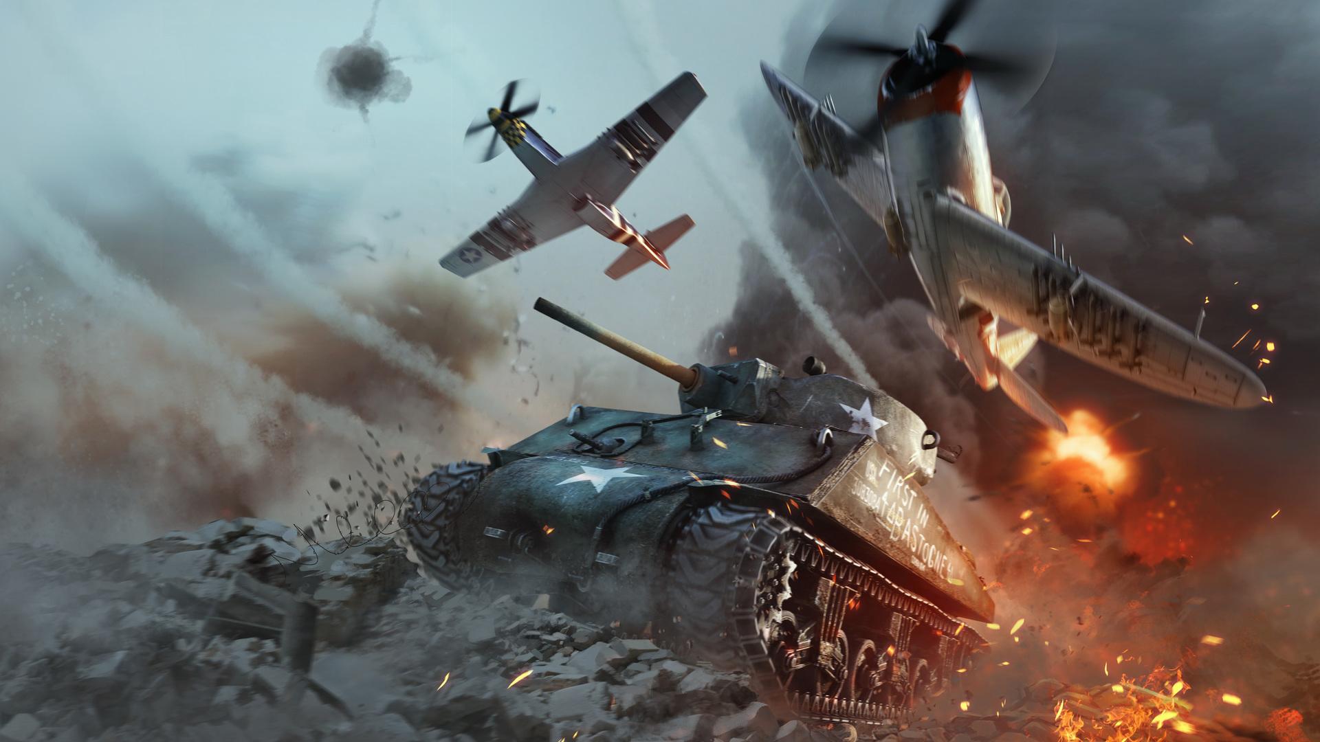 Jogo de Guerra War Thunder 2017