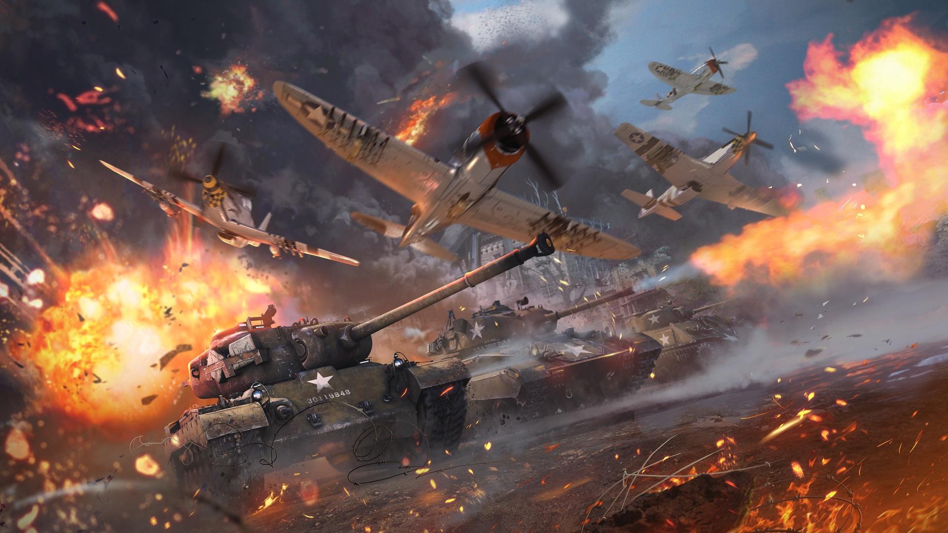 Jogo de Guerra War Thunder Video Game