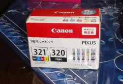 キャノンプリンターインク321&5色320セット