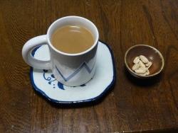 食後のcoffee