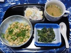 夕食は麻婆豆腐20171108