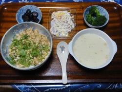 夕食20171109