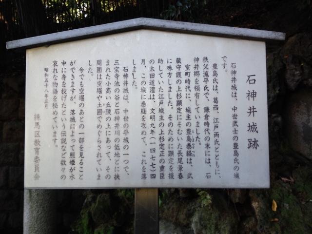 石神井城ご説明。。