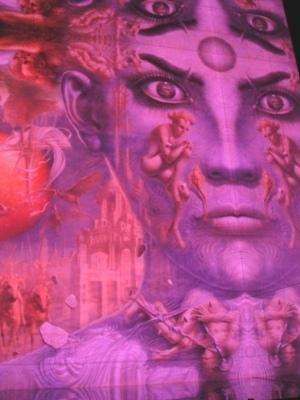 ディマシオ美術館 世界最大の油彩画 光と音のショー2