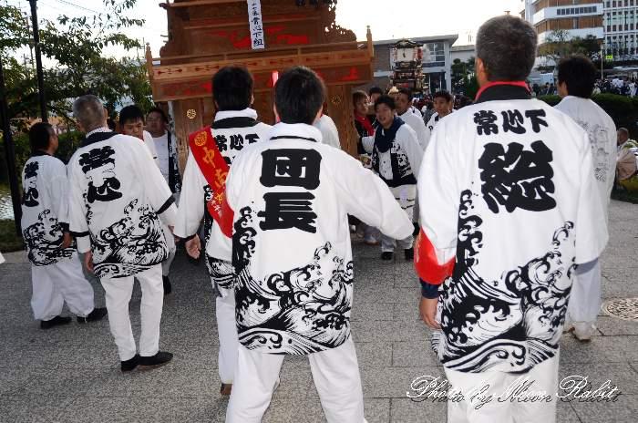 中南屋台(だんじり) 祭り装束