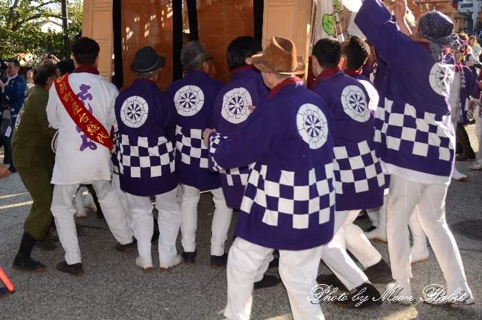 新町屋台(だんじり) 祭り装束