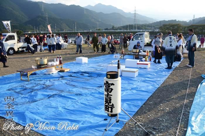 富士見町屋台(だんじり) 祭り提灯