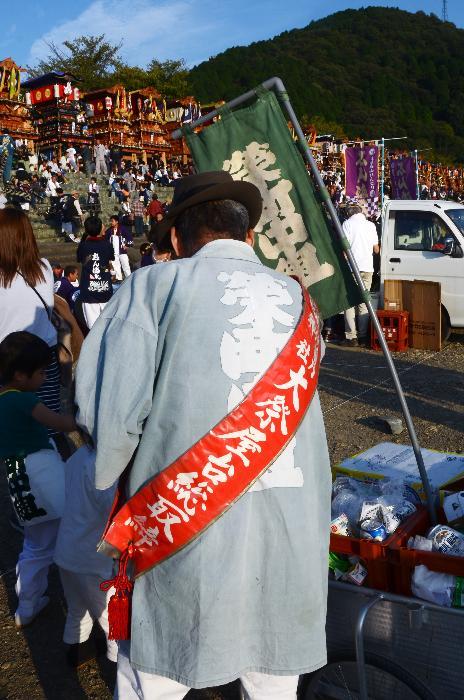 栄町中組だんじり(屋台) 祭り装束