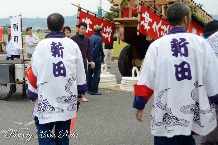 新田屋台(だんじり) 祭り装束