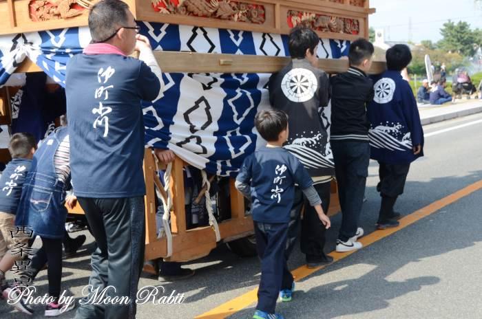 仲町小川屋台(だんじり) 祭り装束 西条祭り
