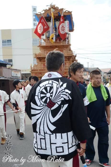 古川だんじり(屋台) 祭り装束