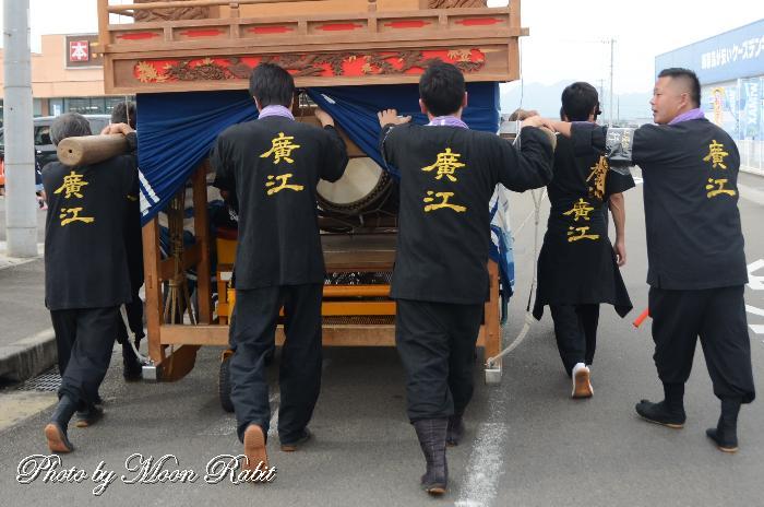 広江だんじり(屋台) 祭り装束 五所神社・徳威神社祭礼