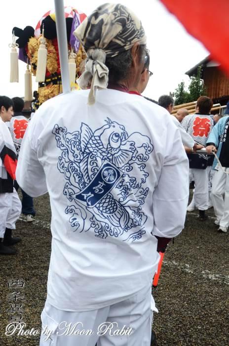 高丸子ども太鼓台 祭り装束