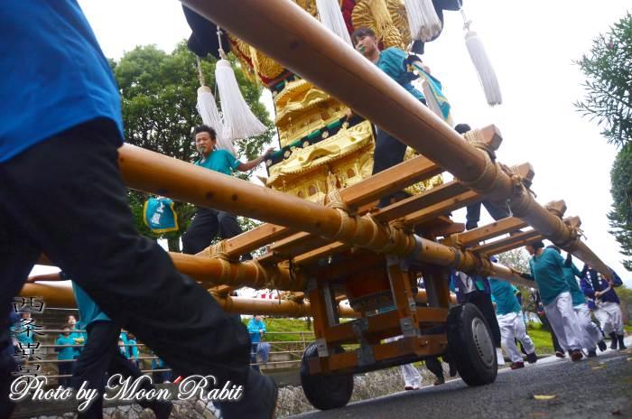車輪 上組子ども太鼓台 嘉母神社祭礼
