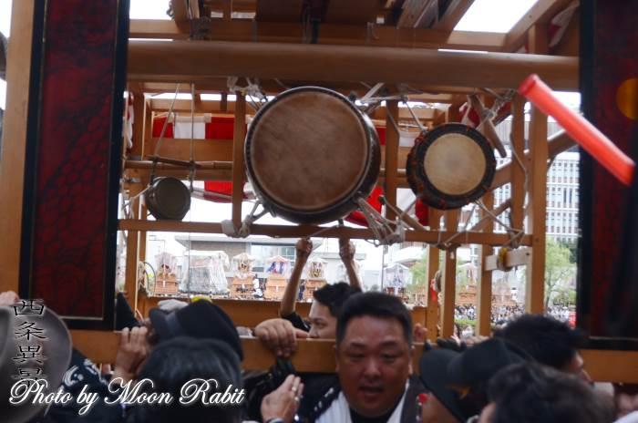 祭り太鼓 松之巷だんじり(屋台)