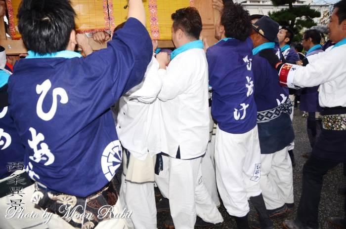 日明屋台(だんじり) 祭り装束