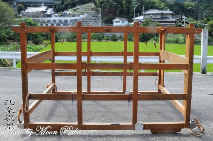 新田屋台(だんじり) 台輪・土台幕