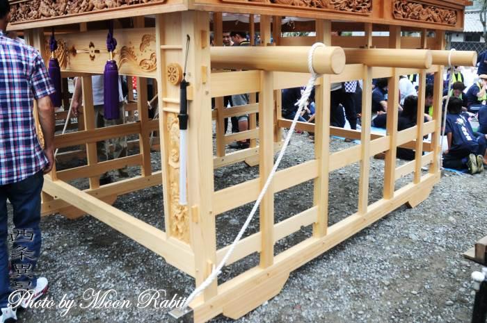 洲之内だんじり(屋台) 台輪 西条祭り 伊曽乃神社祭礼 愛媛県西条市