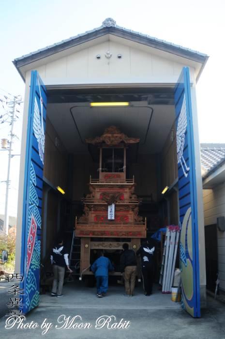 新御堂屋台蔵 石岡神社祭礼