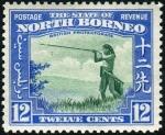 英領ノースボルネオ・吹き矢(1939年)