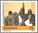 ジンバブエ・独立10周年