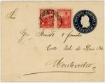 アルゼンチン・切手つき封筒(1900)