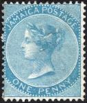 ジャマイカ最初の切手