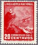 チリ・航空切手(1931)