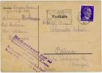 RSHA郵便工作・紫印