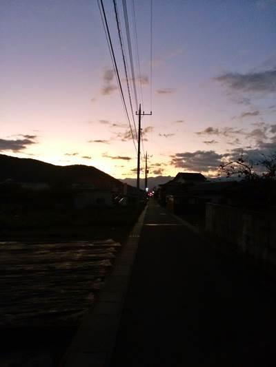 朝ラン 水道道 20171031