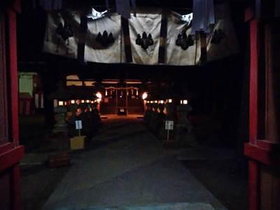 初詣 千塚八幡神社 2018年