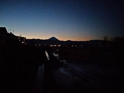 マイナス8度 富士山見ながら