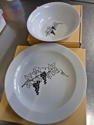 夕食レストラン用のお皿