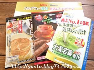 山本漢方 青汁などの無料サンプルセット